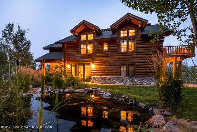 Jackson Single Family Home For Sale: 4420 Bronco Rd