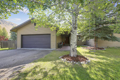 Jackson Single Family Home For Sale: 1220 W Hereford Dr