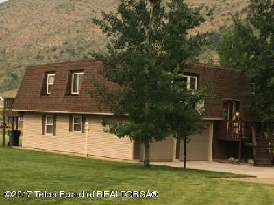 Afton WY Single Family Home For Sale: $264,000