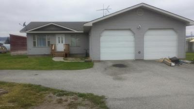 Afton WY Single Family Home For Sale: $205,000