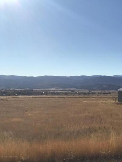Star Valley Ranch Residential Lots & Land For Sale: LOT 76 Star Valley Ranches