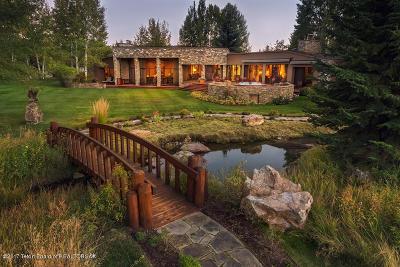 Jackson Single Family Home For Sale: 5755 N Lupine Drive