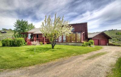 Jackson Single Family Home For Sale: 265 N Bar Y