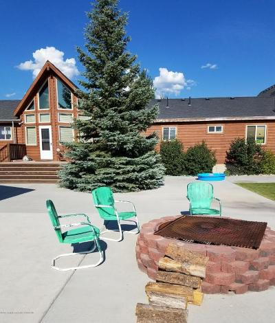 Thayne Single Family Home For Sale: 102293 Us Hwy 89