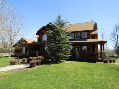Teton Village, Tetonia, Driggs, Jackson, Victor, Swan Valley, Alta Single Family Home For Sale: 1281 Miller Ranch Rd