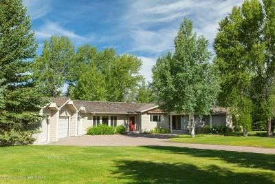 Jackson Single Family Home For Sale: 6175 N Spring Gulch Road