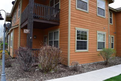 Victor, Swan Valley, Alta, Driggs, Teton Village, Tetonia, Jackson Condo/Townhouse For Sale: 629 Valley Centre Dr #1