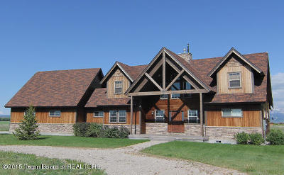 Tetonia Single Family Home Pending Contingent: 4412 Saddle Bluff Trl