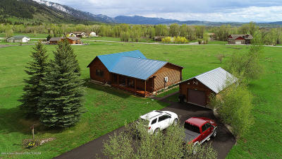 Star Valley Ranch WY Single Family Home For Sale: $252,000