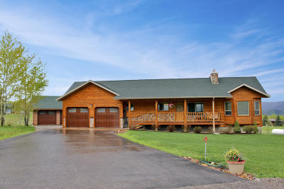 Star Valley Ranch WY Single Family Home For Sale: $449,500