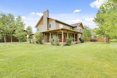 Jackson Single Family Home For Sale: 1725 E Kdc Lane