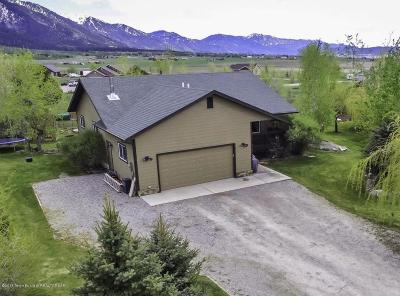 Star Valley Ranch WY Single Family Home For Sale: $369,000