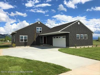 Driggs Single Family Home For Sale: 1142 Wind River Trail