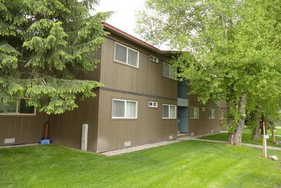 Swan Valley, Victor, Jackson, Driggs, Tetonia, Teton Village, Alta Condo/Townhouse For Sale: 750 Powderhorn Lane #G3