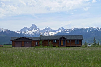 Teton Village, Tetonia, Jackson, Driggs, Victor, Swan Valley, Alta Single Family Home For Sale: 315 W 4350 N