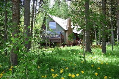 Driggs, Teton Village, Tetonia, Jackson, Victor, Swan Valley, Alta Single Family Home Pending Contingent: 5822 Mountain Dr