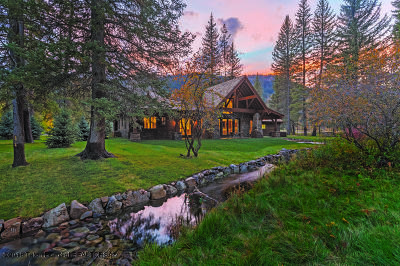 Jackson WY Single Family Home For Sale: $2,950,000
