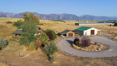 Thayne Single Family Home For Sale: 102278 Hwy 89
