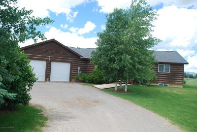Driggs, Teton Village, Tetonia, Jackson, Victor, Swan Valley, Alta Single Family Home For Sale: 7270 Wild Rose