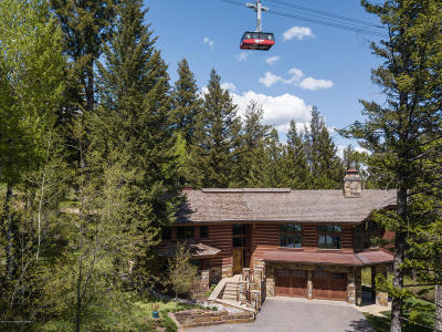 Teton Village WY Single Family Home For Sale: $8,950,000