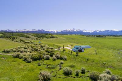 Teton Village, Tetonia, Driggs, Jackson, Victor, Swan Valley, Alta Single Family Home Pending Contingent: 115 E 7750 N