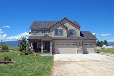 Driggs Single Family Home Pending Contingent: 2040 Mountain Meadows