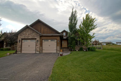 Driggs Single Family Home Pending Contingent: 1179 Wind River Trl