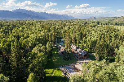 Jackson, Teton Village, Wilson Single Family Home For Sale: 1275 S Ely Springs Rd