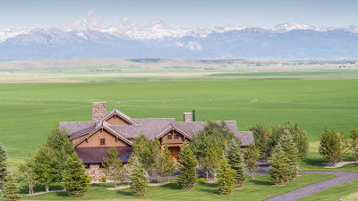 Tetonia Single Family Home For Sale: 9685 River Rim Ranch Rd