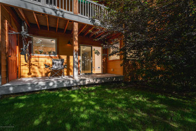 Victor, Swan Valley, Alta, Driggs, Teton Village, Tetonia, Jackson Condo/Townhouse For Sale: 7552 Mt Laurel Dr #C2