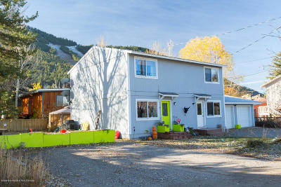 Teton Village, Tetonia, Swan Valley, Victor, Driggs, Jackson, Alta Single Family Home For Sale: 627 E Hall Ave