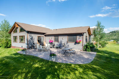Teton Village, Tetonia, Swan Valley, Victor, Driggs, Jackson, Alta Single Family Home For Sale: 7855 Cowboy Wy
