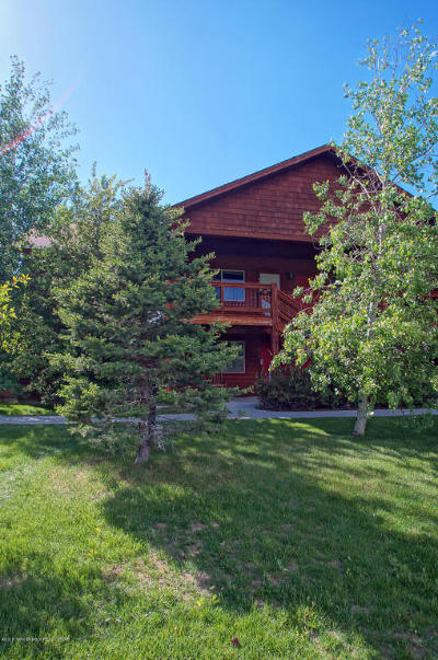 Alta, Driggs, Jackson, Teton Village, Tetonia, Victor, Swan Valley Condo/Townhouse For Sale: 250 Homestead Rd #105