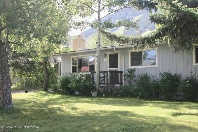 Jackson WY Single Family Home For Sale: $995,500