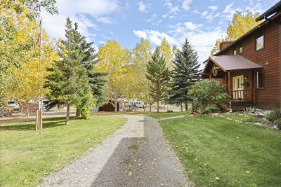 Teton Village, Tetonia, Swan Valley, Victor, Driggs, Jackson, Alta Single Family Home For Sale: 9455 Cole Canyon Rd