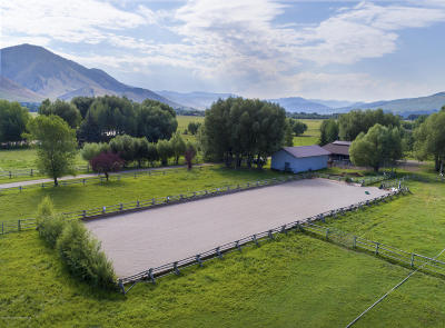 Teton Village, Tetonia, Swan Valley, Victor, Driggs, Jackson, Alta Single Family Home For Sale: 2030 &2040 South Park Ranch Road