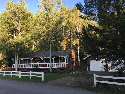 Alpine WY Single Family Home For Sale: $225,000