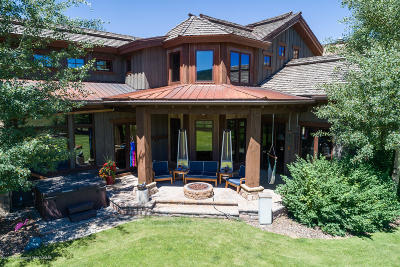 Teton Village, Tetonia, Swan Valley, Victor, Driggs, Jackson, Alta Single Family Home For Sale: 1770 Cherry Grove Ln