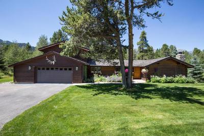 Driggs, Felt, Tetonia, Victor, Alta, Hoback Jct., Jackson, Moran, Teton Village, Wilson Single Family Home For Sale: 3755 N Lake Creek Drive