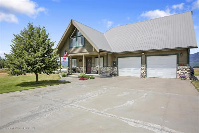 Alpine WY Single Family Home For Sale: $499,000