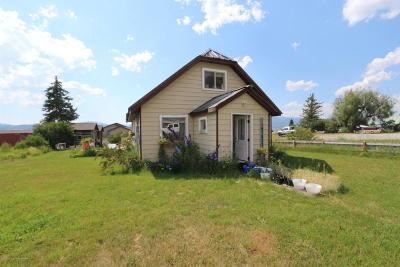 Etna Single Family Home For Sale: 107810 Us-89