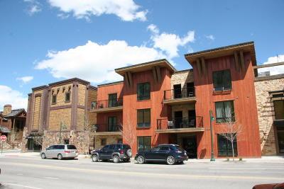 Teton Village, Tetonia, Jackson, Driggs, Victor, Swan Valley, Alta Condo/Townhouse For Sale: 170 N Millward St #306
