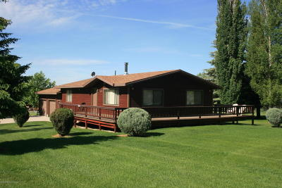 Star Valley Ranch WY Single Family Home Pending Contingent: $279,000