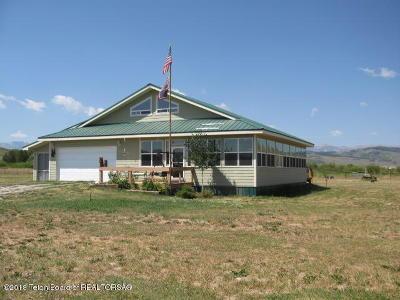 Bondurant Single Family Home For Sale: 48 Upper Hoback