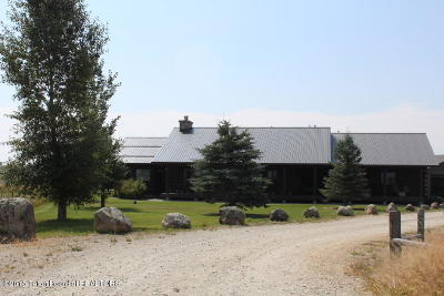 Pinedale WY Single Family Home For Sale: $849,000
