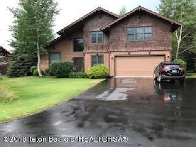 Driggs, Felt, Tetonia, Victor, Alta, Hoback Jct., Jackson, Moran, Teton Village, Wilson Single Family Home For Sale: 4305 S Fallen Leaf Ln