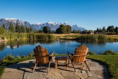 Driggs, Felt, Tetonia, Victor, Alta, Hoback Jct., Jackson, Moran, Teton Village, Wilson Single Family Home For Sale: 125 Huckleberry Dr