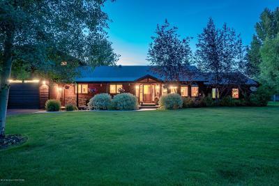 Driggs, Felt, Tetonia, Victor, Alta, Hoback Jct., Jackson, Moran, Teton Village, Wilson Single Family Home For Sale: 2340 Grand Teton Cir
