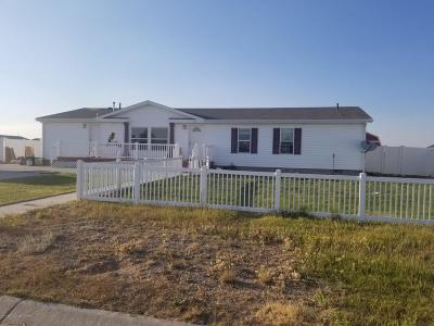 Marbleton Single Family Home For Sale: 605 Kenneth St