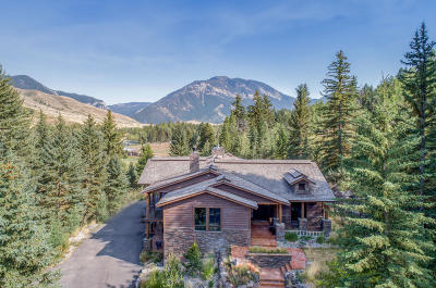 Hoback Jct. WY Single Family Home For Sale: $2,995,000